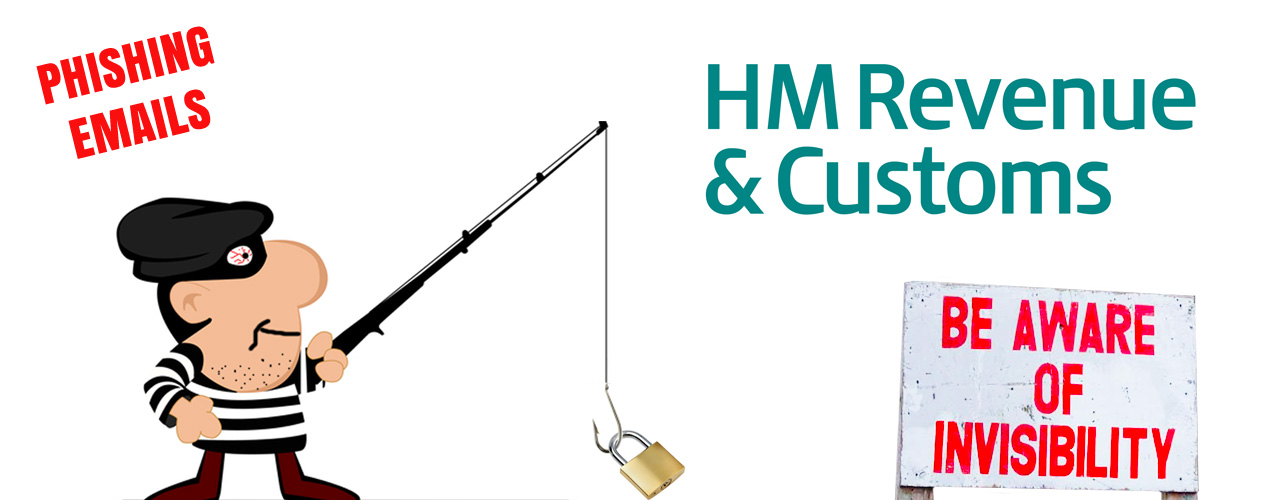 Scam Phishing Emails - HMRC